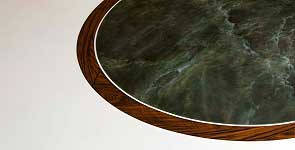 Marble painting floor (marquetry)
